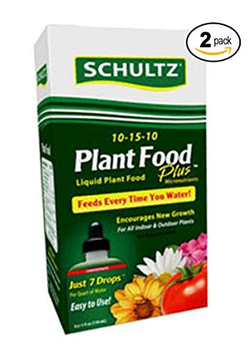 Schultz All Purpose Liquid Plant Food 10-15-10, 4 oz (2 Pack)