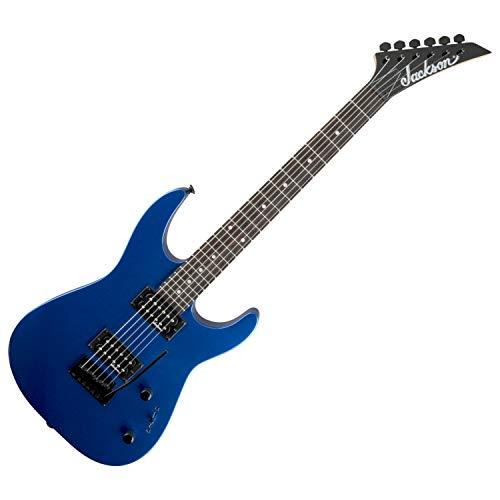(Jackson JS Series Dinky JS11 Electric Guitar (Metallic Blue))