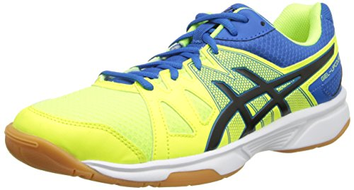 ASICS Mens Gel-Upcourt Tennis ShoeFlash YellowBlackPort Apia6.5 M US