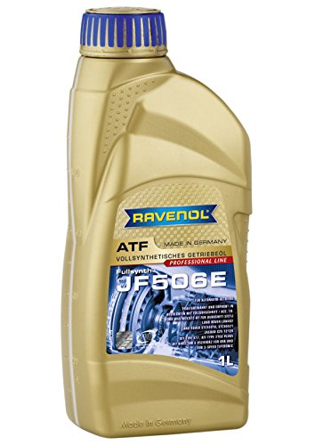 Ravenol J1D2109 ATF (Automatic Transmission Fluid) - JF506E Full Synthetic for 5-Speed JACTO Automatic Transmissions (1 Liter) by Ravenol
