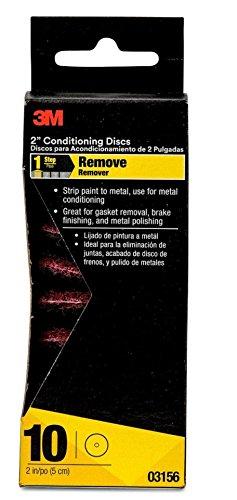 3M 03156 2.1'' x 4.77'' Medium Conditioning Disc (Pack of 24)