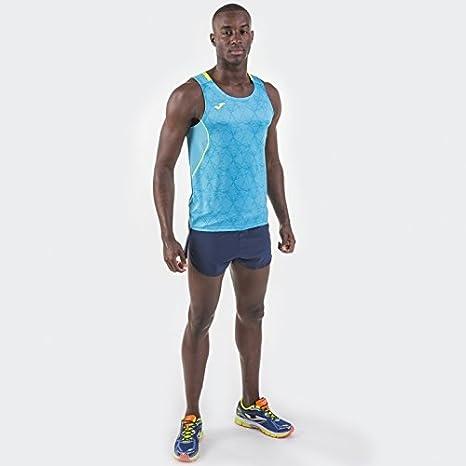 Amazon.com : Joma Teamwear Tank Top Sleeveless Olimpia Turquoise-Yellow Uniforms Camisetas : Sports & Outdoors