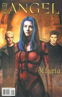 Angel Spotlight Illyria Comic Book One Shot Steph Stamb Cover