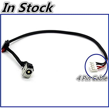 ShineBear New Laptop DC Power Jack Cable DC Charging Socket Plug Port Wire for Toshiba Satellite Pro C70-C C70D-C C70DT-C C70T-C Cable Length: Buy 10 Pieces