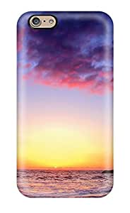 QDNrqcy7588rdtRO Faddish Colorful Sunset Twilight Case Cover For Iphone 6