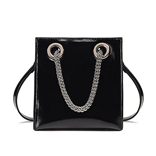 cross multifunctional leather oblique bags D fashion handbag women shoulder chain Leather Axiba single patent ZP8YcfWq