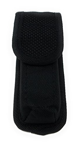 Concealment Tactical Magazine Pouch Case - Multi Use Holster Belt Loop Single Magazine Case Pouch .45 Caliber (Black/Single) (Single Holster Loop)