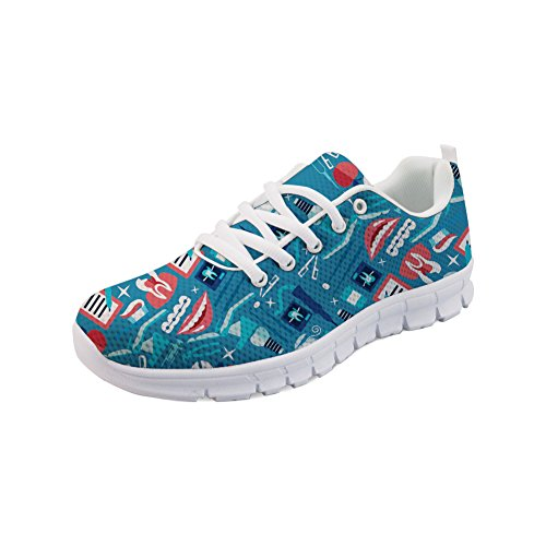 doginthehole Treatment Sneakers Medical Women Print Sport Medical Mesh Treatment2 Shoes Walking aacq7rBwZ