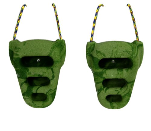 Metolius Rock Rings 3D Green / Green Swirl One Size (Hangboard Rock Climbing)
