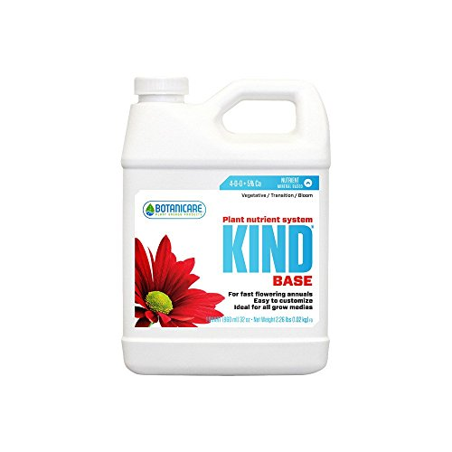 41wGlKkfIML - Botanicare Kind 3 Pack Bundle: Grow, Bloom, Base + Twin Canaries Chart & Pipette - 1 Quart Each