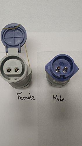 Kristal Fishing Electric Reel Plugs - Male