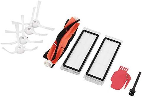 Haihuic Kit de Accesorios para Xiaomi MI Robot Aspirador Roborock Piezas de Repuesto Cepillo Principal, Filtro Hepa, Cepillo Lateral, Herramienta de ...