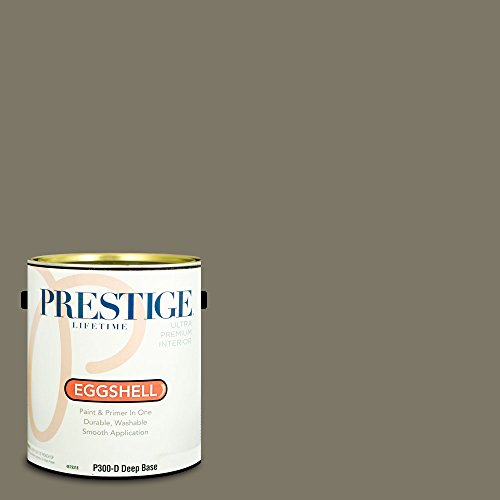 rior Paint and Primer In One, 1-Gallon, Eggshell,  Comparable Match of Benjamin Moore Gloucester Sage ()