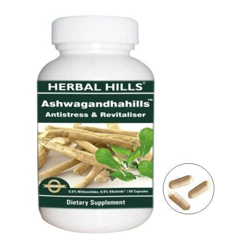 Ashwagandhahills - 100% ayurvédiques Pills Ashwagandha pas d'effets secondaires - renforcer le système immunitaire et gardé le stress de Free Mind!