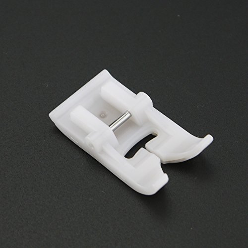 DreamStitch Teflon zig zag Non-Stick Sewing Machine Presser Foot - Fits All Low Shank Snap-On Brother,Babylock,Singer,Euro-Pro,Janome,Kenmore,White,Juki,New Home, Simplicity,Elna etc #P8-7301T