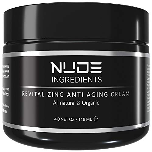 Nude Ingredients Mens Anti Aging Face Cream For Men – Day and Night Cream – Essential Facial Moisturizer for Men…