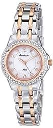 Armitron Women's 75/5194MPTR Swarovski Crystal Accented Two-Tone Bracelet Watch
