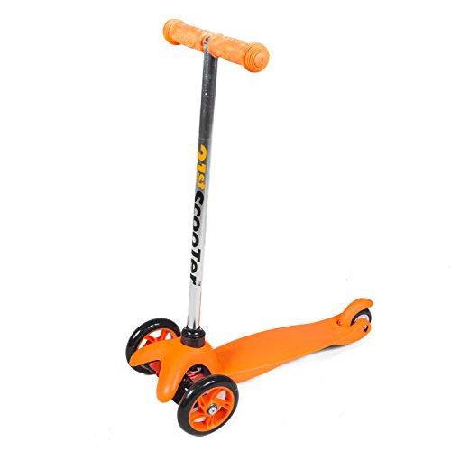 Retro Boards Kickboard Scooter 3 Wheel scoooter Ages 2+ (Orange)