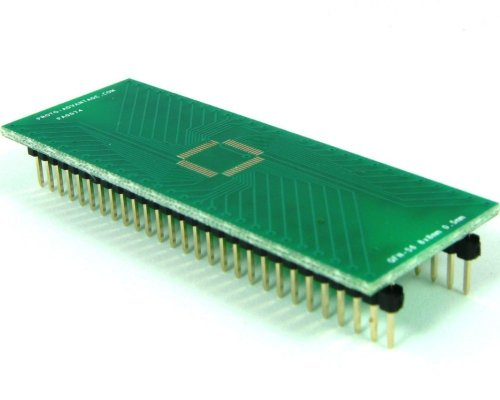 Proto-Advantage QFN-56 to DIP-56 SMT Adapter (0.5 mm pitch, 8 x 8 mm (Qfn Dip Adapter)