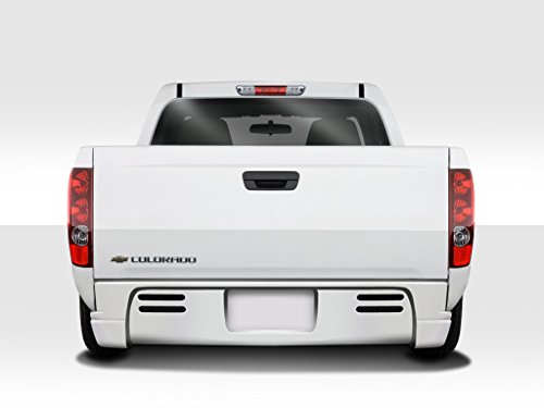 Duraflex ED-ZFA-633 BT-1 Rear Bumper Cover - 1 Piece Body Kit - Compatible For Chevrolet Colorado 2004-2009