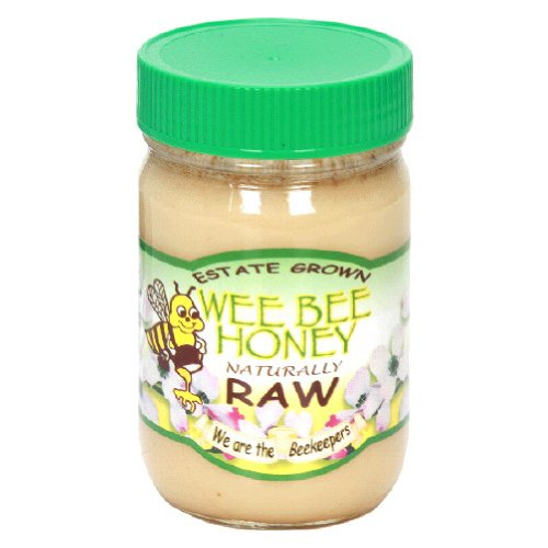 Wee Bee Super Naturally Raw Honey, 1 Pound -- 12 per case. by Wee Bee Honey