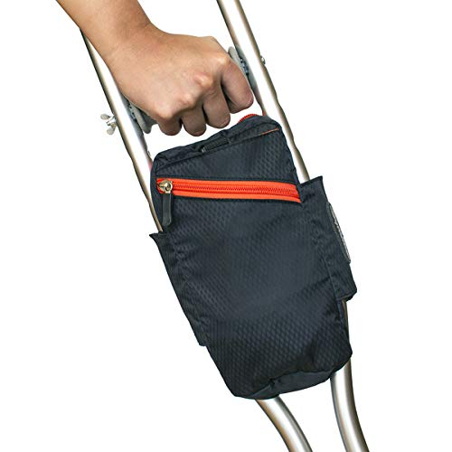 Crutch – Walker Bag – Versatile, Orthopedic, Lightweight Accessory, Designer Carry On Tote, New Ergonomic Design