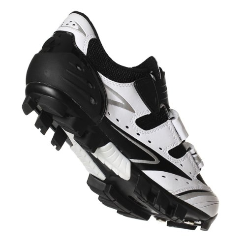 Ciclismo zapato Vega blanco negro gris