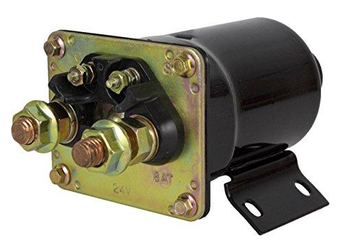 (NEW 24V STARTER SOLENOID FITS CATERPILLAR TRACK TRACTOR D6D D6H D7E D7F D7G D7H D8H)
