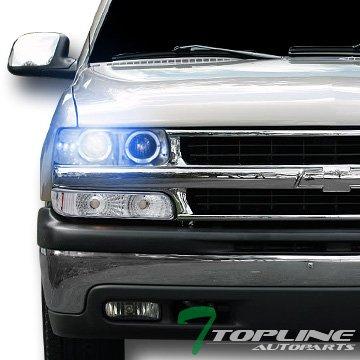 02 Chevrolet Silverado Halo Projector - 5