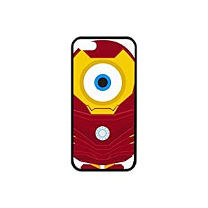 GCKG Pack of Cute Despicable Me Minions Plastic and TPU Case Skin for iPhone 5 5S