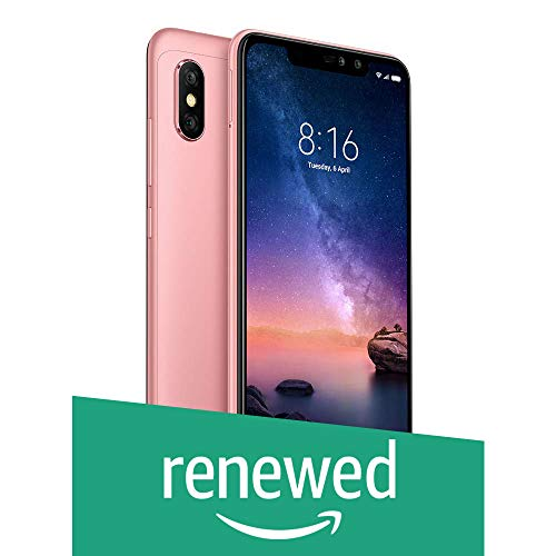 (Renewed) Mi Redmi Note 6 Pro (Rose Gold, 4GB, 64Gb)