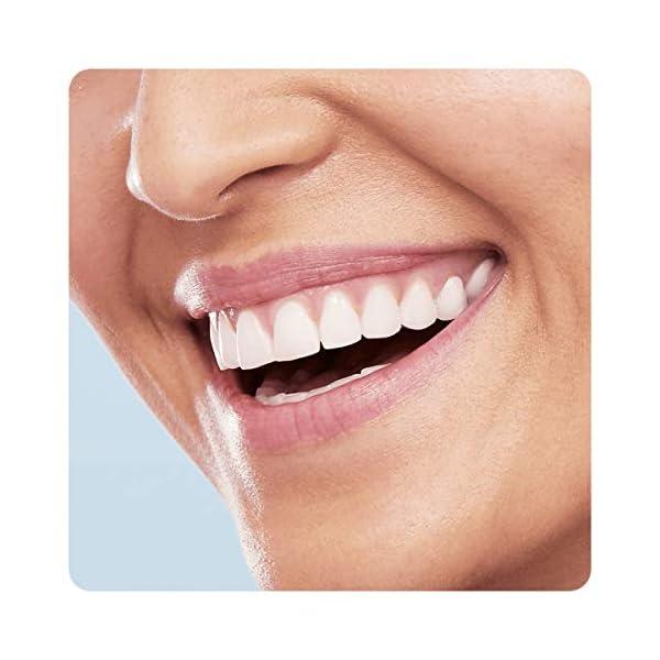 Oral-B Pro 3000 - Cepillo de dientes eléctrico de rotación, color blanco y azul 10