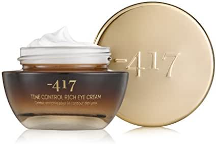 -417 Dead Sea Time Control Advanced Anti-Wrinkle Eye Cream - Anti-Aging, Firms and Tightens Skin -with Horse Chestnut Seed Extract, Olive Oil & Dead Sea Water - Best Eye Cream 1.o fl oz