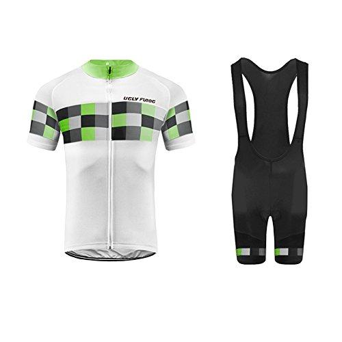(Uglyfrog New Summer Brief Professional Classic MTB Bicycle Cyling Jersey+bib Shorts Bike Set Team Clothing Triathlon Wear)