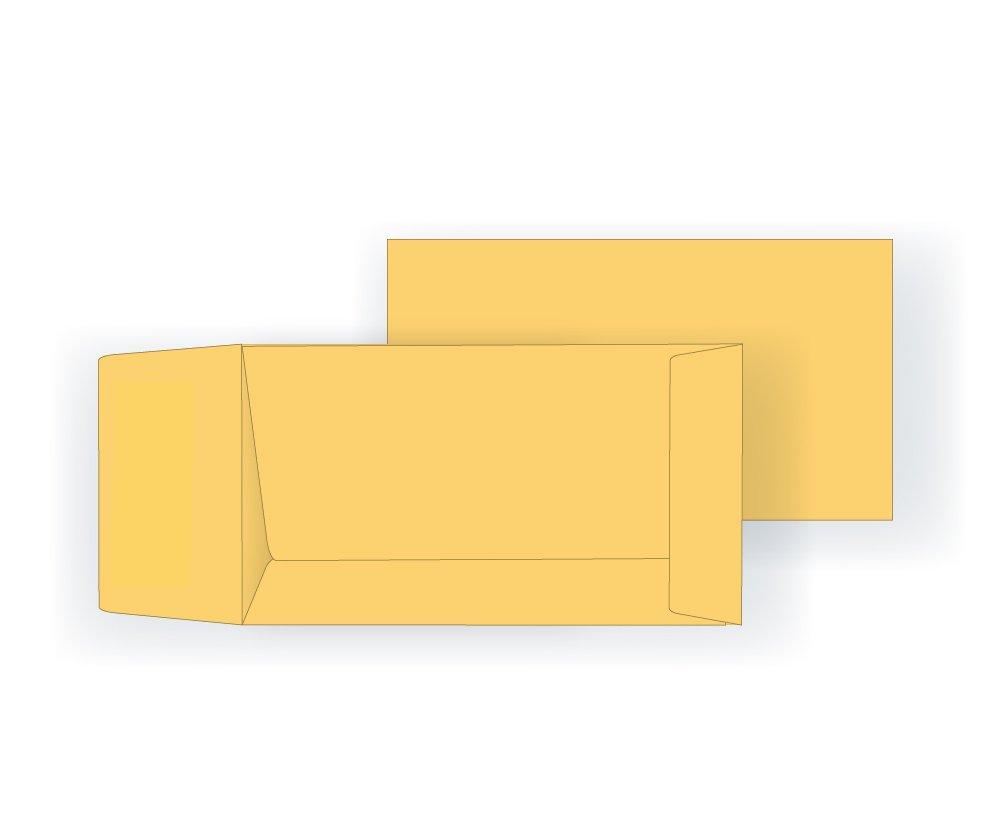 #7 Coin Envelope - 28# Manila Kraft (3 1/2 x 6 1/2) - Open End (Box of 250)