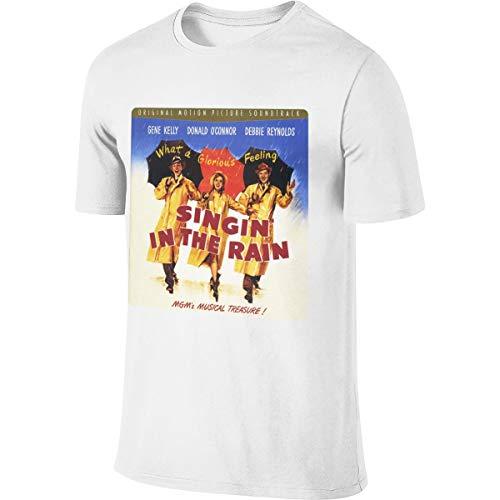 Men's Singin' in The Rain Fashion T-Shirt Custom Clothing M