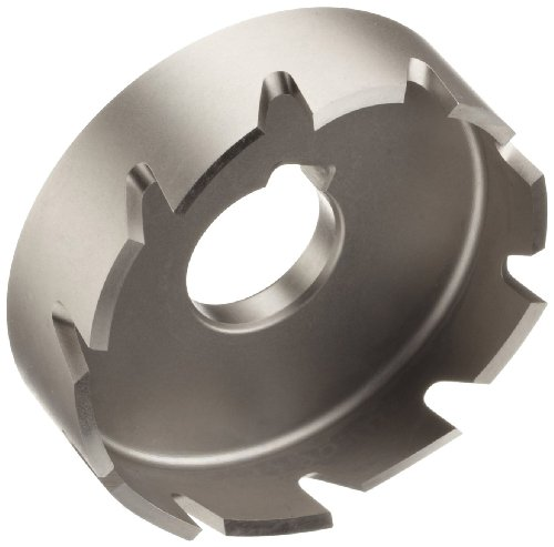 Jancy Slugger High Speed Steel Sheet Metal Cutter, Uncoated (Bright) Finish, Key Driven Shank, 1/4