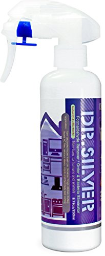 Environmentally Friendly Fabric (DR.SILVER Deodorizer Spray, Silver-Ions and Photocatalysis Formula for Multi-Purpose Odor Eliminate, Instantly Formaldehyde, Mold, Fungus, Mildew and Odor Remover, Environmentally Friendly)