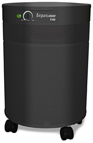 Airpura Industries V600 Air Purifier Capable of removing over 4000 chemicals, Color Black