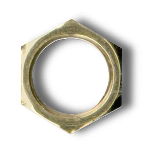 Hexagonal Locknut Fits 1/8 IP Standard Lamp Pipe (300 (Lamp Nut)