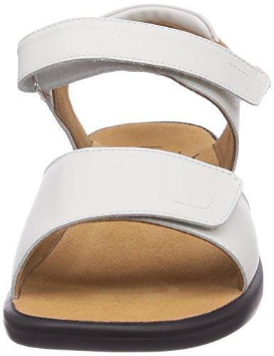 Ganter Vrouwen Sonnica-e Open Sandalen Met Sleehak Wit (white 0200)