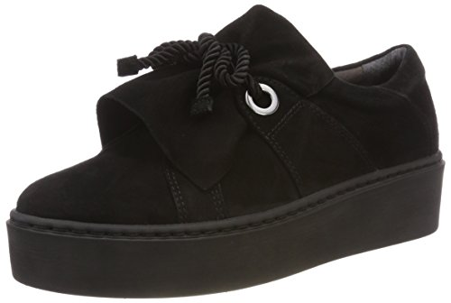 24723 Black Tamaris Black Loafers Women's 001 BqBcaY7