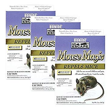 Bonide 865 4 Count Mouse Repellent, 2-Ounce 3 - Pack (12 Count)