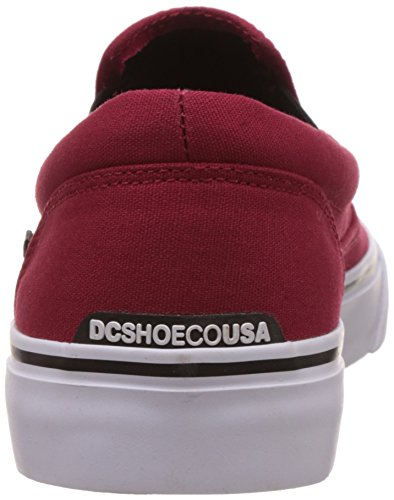 DC Mocassini on T Trase da Uomo Red BKW Rouge M Slip Shoe T0TqxrRaFw