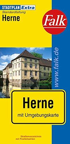 Falk Stadtplan Extra Standardfaltung Herne