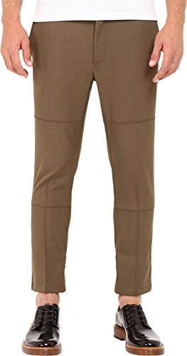 Marc Jacobs Men's Strictly Twill Trousers Army Melange Pants Marc Jacobs Men Pants