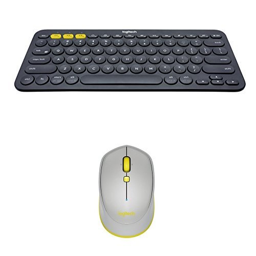 7381b5f3aa1 Logitech K380 Multi-Device Bluetooth Keyboard for Windows, Mac, Chrome and  Android with Logitech M535 Bluetooth Mouse for Windows, Mac, Chrome and  Android - ...