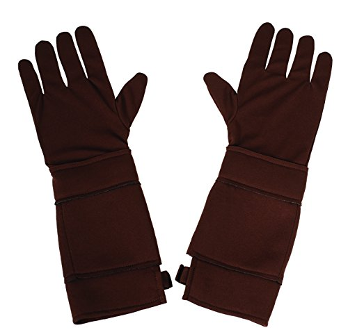 Marvel Rubie's Costume Men's Universe Captain America The Winter Soldier Gloves, Brown, One Size -