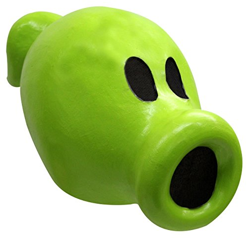 Peashooter Halloween Costume (Ghoulish Productions Peashooter Plants vs Zombies Adult)