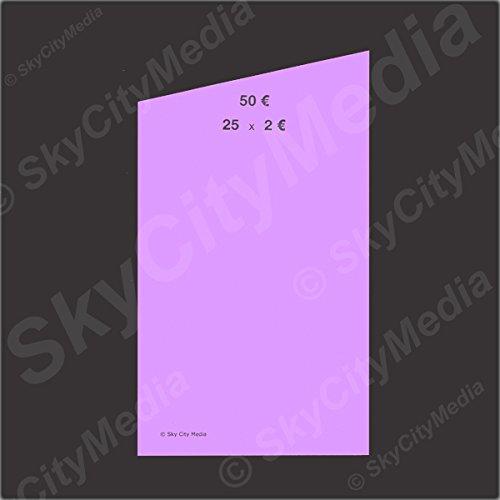 Münzrollpapier Set Für Euro Münzen Je 10x 001 002 005